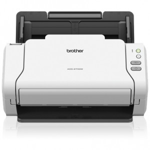 Brother ADS-2700W Wireless Document Scanner - Speed 35ppm - Resolution 600x600dpi