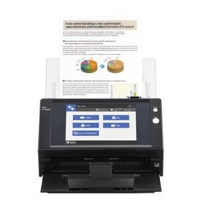 Fujitsu N7100E Network Scanner - Speed 25ppm - ADF 50 sheets