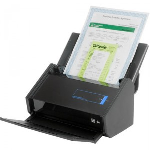 Fujitsu ScanSnap iX500 Desktop Scanner - Speed 25ppm - Resolution 600dpi - ADF 50 sheets - Built-in Wi-Fi