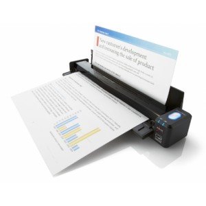Fujitsu ScanSnap iX100 Mobile Scanner - Speed 5.2 seconds per page - Resolution 600dpi - CDF