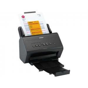 Brother ADS-2400N Network Document Scanner - Speed 30ppm - Resolution 600x600dpi