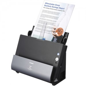 Canon DR-C225 Compact Document Scanner - Speed 25ppm - Resolution 600dpi - A4 Sheet-Fed Scanner